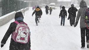 Son dakika haberi: Yüz yüze eğitime kar engeli İşte ara verilen iller