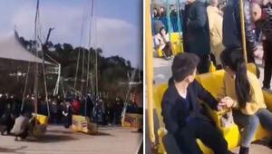 Çinde lunaparkta dönme dolap kazası: 16 yaralı