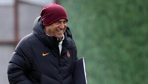 Galatasarayda Fatih Terim, hem mutlu hem umutlu