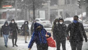 Kar beyaz Ankara