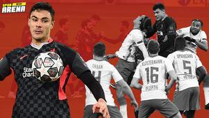 Liverpoolda Ozan Kabak RB Leipzig maçında tarihe geçti Uyuyanlar çok şey kaçırdı...