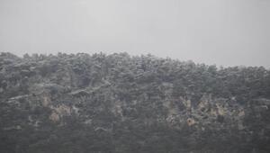 KKTCye mevsimin ilk karı yağdı