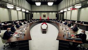 Cumhurbaşkanlığı Kabinesi toplantısı sona erdi.