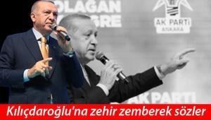 Son dakika... Cumhurbaşkanı Erdoğandan Kılıçdaroğluna sert sözler: Sen ne yüzsüzsün, terbiyesiz herif