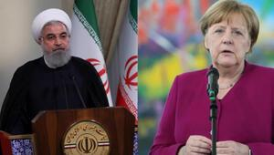 Ruhani ve Merkel arasında kritik görüşme