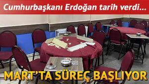 Kıraathaneler ne zaman açılıyor Cumhurbaşkanı Erdoğandan kahvehaneler için normalleşme mesajı