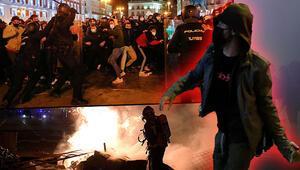 İspanya sokakları yangın yeri Şiddetin dozu artıyor