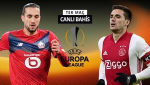 Burak Yılmaz kadroda mı, Yusuf Yazıcı ilk 11de olacak mı Lillein Ajax karşısında iddaa oranı...