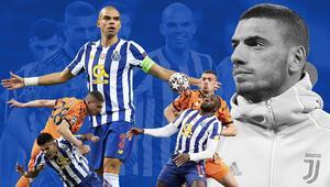 Juventus - Porto maçında gergin anlar Pepe, Merih Demirala yumruk savurdu ama...