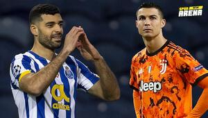 Çaykur Rizespordan kaçan Mehdi Taremi, Şampiyonlar Liginde Juventusu dağıttı İlk golü...
