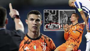 Cristiano Ronaldo Porto maçında çılgına döndü