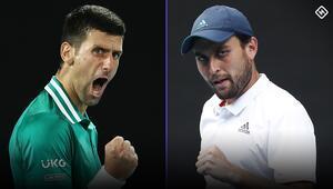 Djokovic Karatsev Avustralya Açık Tenis Yarı Final maçı ne zaman saat kaçta hangi kanalda