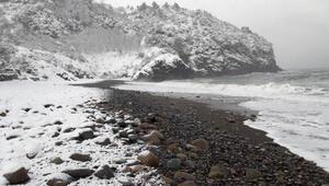 Cidede kar güzelliği