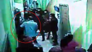 Hastanede hareketli anlar Temizlik görevlisi gibi giyinen polis yakaladı...
