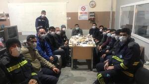 MEDAŞ Genel Müdürü Erol Uçmazbaş, gece çalışan personelini ziyaret etti