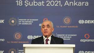 Azerbaycan Başbakanı Ali Esedov, Türkiye-Azerbaycan İş Forumunda konuştu