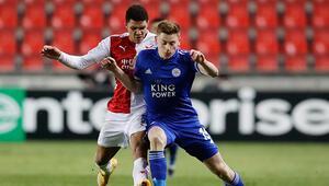 Slavia Prag 0-0 Leicester City (Maçın özeti)