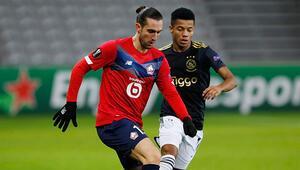 Lille 1-2 Ajax (Maçın özeti ve golleri)