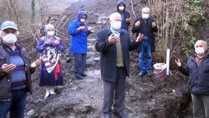 Trabzonda 400 yıllık su değirmenleri dualarla açıldı