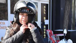 Motosikletli kuryeler, duyarlı olunmasını istiyor