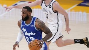 NBAde Gecenin Sonuçları: Lakers kaybetti ama LeBron James 35 bin kulübüne girdi