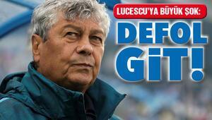 Dinamo Kiev taraftarından Lucescu pankartı: Defol