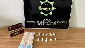 Çorluda uyuşturucu operasyonu: 2 gözaltı