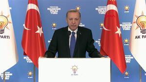 Cumhurbaşkanı Erdoğan, partisinin 7 ildeki Kadın Kolları 6. Olağan Kongresinde açıklamalarda bulundu