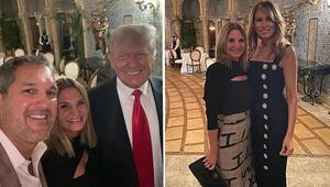 Haftalar sonra ilk kez Trump çifti birlikte görüntülendi