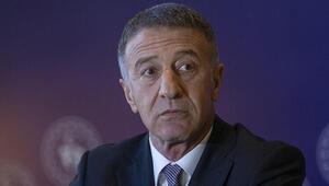 Trabzonspor Başkanı Ahmet Ağaoğlundan Başakşehir maçı sonrası Fenerbahçe açıklaması