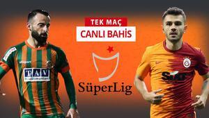 Galatasaray, Alanyaspora karşı şanssızlığını kırabilecek mi Galibiyetlerine iddaada...