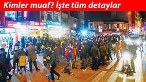 Sokağa çıkma yasağından kimler muaf ALESe girenler için sokak kısıtlaması açıklaması