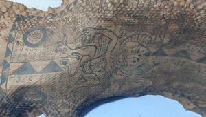 Gaziantepte ele geçirildi Orta Çağa ait ve 340 santimetre uzunluğunda...