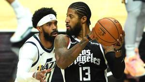 NBAde gecenin sonuçları: Utah Jazzın 9 maçlık serisini Clippers bitirdi