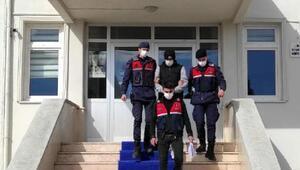 Aranan şüpheli yakalanarak, tutuklandı