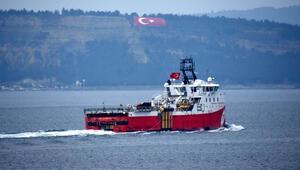 'Barbaros Hayreddin Paşa' gemisi Çanakkale Boğazından geçti
