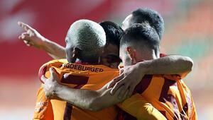 Alanyaspor 0-1 Galatasaray (Maçın özeti)