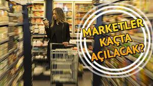 Marketler saat kaçta açılıyor 20-21 Şubat hafta sonu marketlerin açılış ve kapanış saati