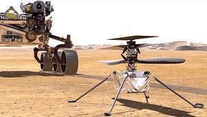 Kızıl Gezegen'in 'marifet'li helikopteri