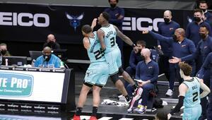 NBAde Gecenin Sonuçları: Hornets, Warriorsı son saniyede yıktı