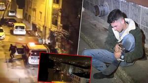 Polisle çatışırken kendini vurdu