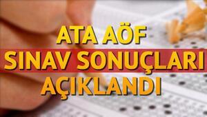 ATA AÖF bütünleme sınav sonuçları açıklandı- OBS sonuç sorgulama