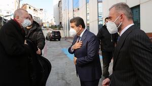 Cumhurbaşkanı Erdoğan, Esenler Belediyesini ziyaret etti