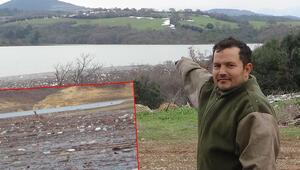 Bayramiç Barajını zehirli zirai ilaç atıkları tehdit ediyor