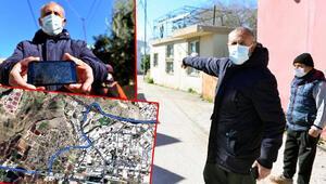 Adanada TIRların evlere zarar verdiği dar sokakta vatandaşların navigasyon isyanı
