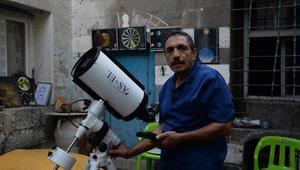 NASAdan teşekkür mektubu alan Diyarbakırın astronomu Abdulkadir Topkaç yaşamını yitirdi