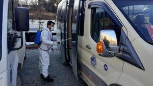 Niksar Belediyesinden dezenfekte çalışması