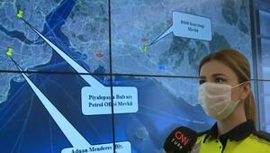 Trafiğe çıkanlar dikkat İşte İstanbul'un 10 kara noktası…