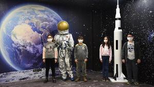 Astronot olmak isteyen 4 çocuktan Türk uzay yolcularına isim önerisi