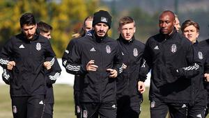 Beşiktaşta Oğuzhan ve Rıdvan sevinci